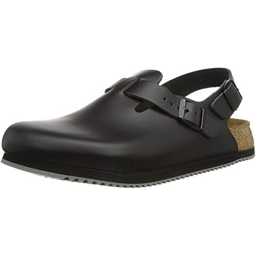 Birkenstock, Tokio SL Black, Natural Leather, 35