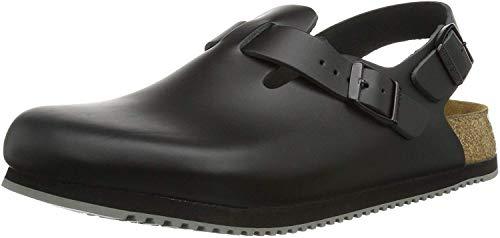 Birkenstock Professional Women's Tokyo Super Grip Leather, Black, 10-10.5 Narrow