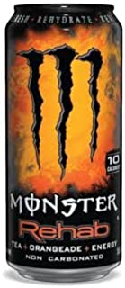 16 Pack - Monster Rehab - Tea + Orangeade + Energy - 15.5oz.