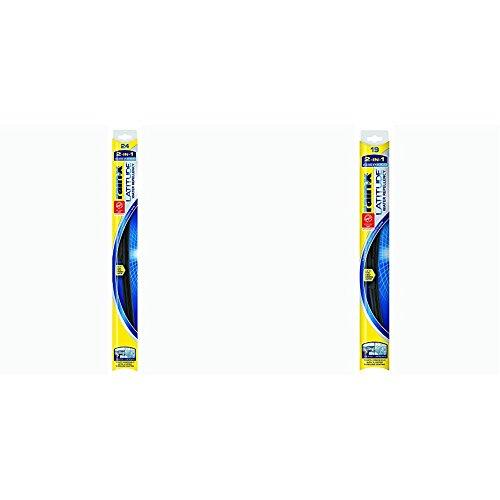 Rain-X LWR2419 Latitude Latitude 2-IN-1 Water Repellency Wiper Blade 24' and 19' Pack