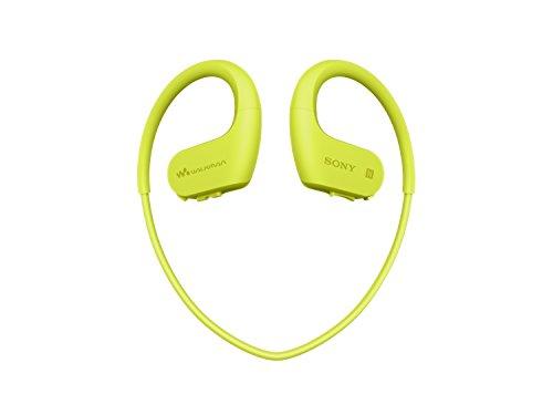 Sony NWWS623 Walkman  - Reproductor de MP3 deportivo (resistente al agua y al polvo con tecnología inalámbrica BLUETOOTH), Verde lima