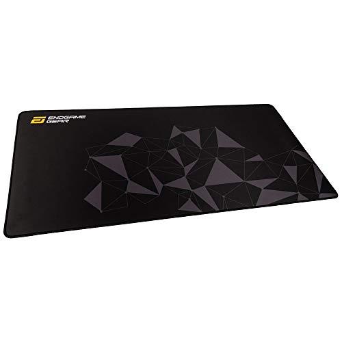 ENDGAME GEAR MPJ 890 Rutschfestes Gaming Mauspad - XL Mauspad - Schreibtischunterlage - Größe : 890 x 450 x 3 mm - Ergibt Ausgezeichnete Gleiteigenschaften für alle Maustypen Stealth Black (schwarz)