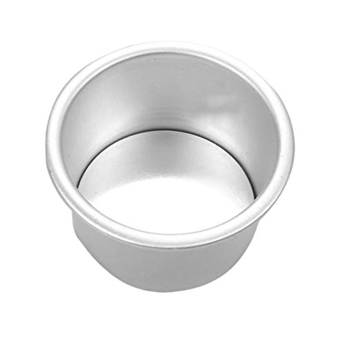 N / E Home 2/4/5/6/7/9/10/11/12/14 pulgadas de aleación de aluminio de forma redonda molde para hornear pastel no tóxico molde para hornear herramientas de hornear molde para pasteles