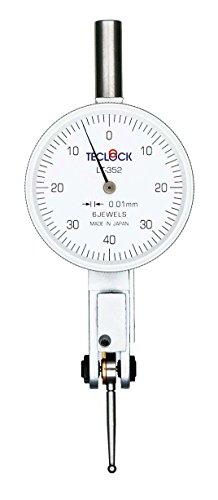 テクロック レバーテスト LT352(測定範囲0.8mm目量0.01mm測定子φ2オートクラッチ形)
