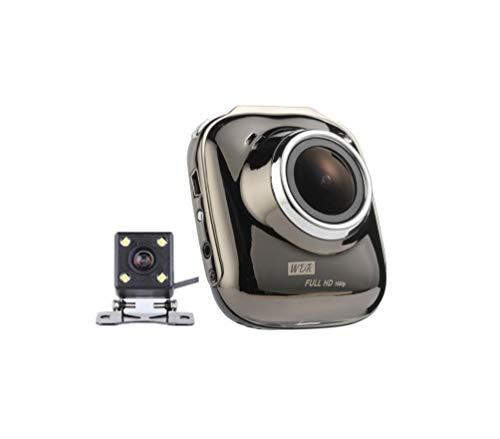 Dash Cam 1080P HD DVR voiture enregistreur de conduite 2 pouces écran LCD 140 ° grand angle, G-Sensor, WDR, moniteur de stationnement, enregistrement en boucle