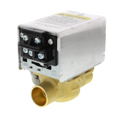 Honeywell Home (Resideo) 3/4' Sweat Zone Valve (Connection = Terminal Block)