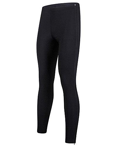 Santini 365 Cx Side Zip Warm Up Collant Homme, Noir, FR : L (Taille Fabricant : L)