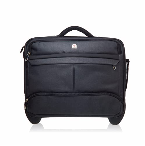 Rolling Laptop Bag Premium Wheeled Briefcase Fits Up to 17.3 Inch Laptop...