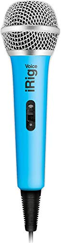 Ik Multimedia iRig Voice, Microfono a Gelato, Blu