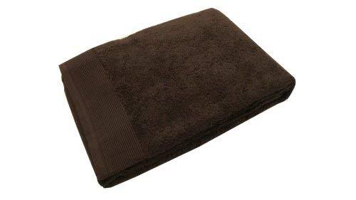 Blanc des Vosges E7S1G-0159 Cotton Bath Towel 110 x 55 cm Ebony Colour by by Unknown
