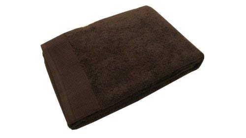 Blanc des Vosges E7S1G-0159 Cotton Bath Towel 110 x 55 cm Ebony Colour by by Unknown