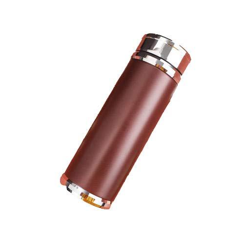 B/H Cantimplora Termo con,Frasco de vacío de aleación de Zinc-Red_450ml,Botellas de Frío/Caliente
