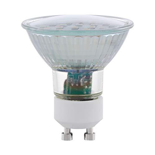 Preisvergleich Produktbild EGLO LED GU10 Lampe,  LED Spot,  GU10 Spot,  5 Watt (entspricht 35 Watt),  400 Lumen,  GU10 LED warmweiß,  3000 Kelvin,  LED Leuchtmittel,  Spot LED GU10,  Ø 5 cm