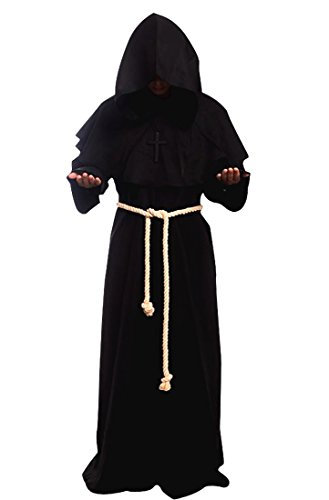 steampunk cloak black
