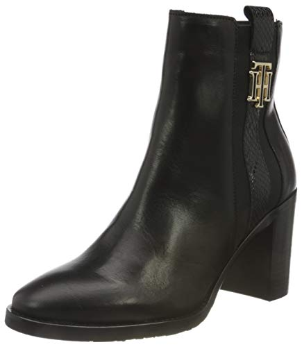 Tommy Hilfiger TH Interlock High Heel Boot, Bottine...