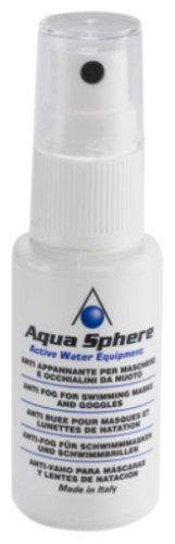 Aqua Sphere Anti-Fog Spray Pflegemittel, Weiß, One Size