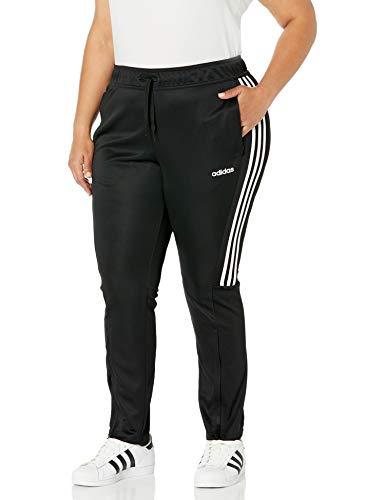 阿迪达斯女式塞伦诺19裤子,黑色/白色,中等