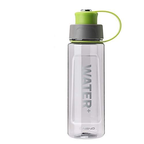 Botellas de Agua portátiles de 1000 ml / 1500 ml Botella de Bebida Deportiva sin BPA Camping al Aire Libre Ciclismo Senderismo Deportes Botellas agitadoras - 1000 ml Verde