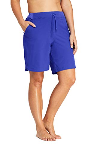 Lands' End Women's Plus Size Comfort Waist 9