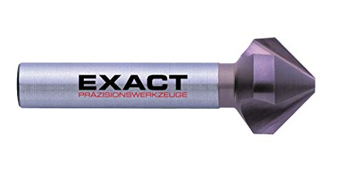 Exact - Svasatore conico 90°, Ø 6,3 mm, HSS, rivestimento TiCN, DIN 335C