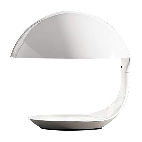 Cobra - Lampe de table blanc/mat/H: 40cm/excl. illuminant