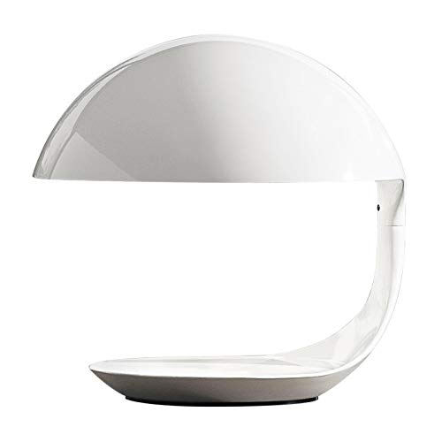 Cobra - Lampe de table blanc/mat/H: 40cm/excl. illuminant