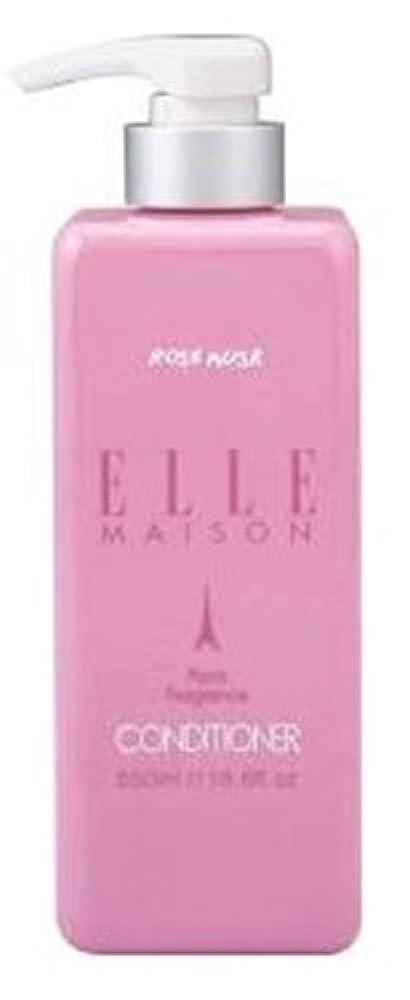 湿度する必要がある判読できない熊野油脂 ELLE MAISON ノンシリコンコンディショナー 本体 550ml