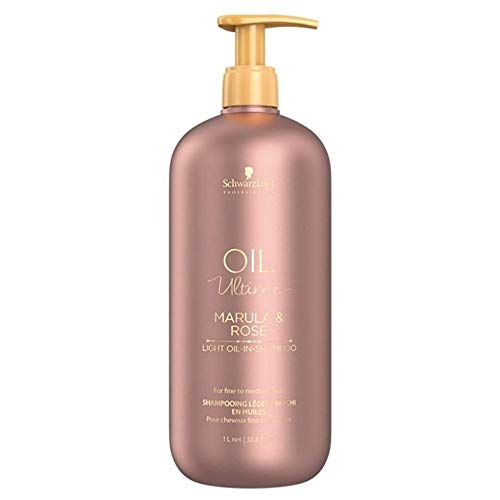 Shampoing OIL ULTIME marula-rose cheveux fins & normaux SCHWARTZKOPF 1000ml