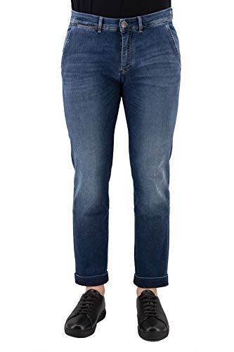 JECKERSON Jeans Blu in Cotone con Tasche America - 30