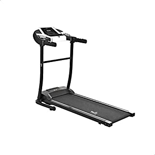 Top Fit MT-333 Fitness Treadmill, 110 Kg - Black and Silver