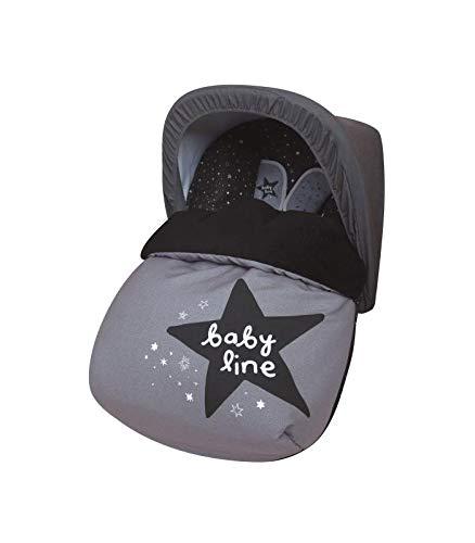 Babyline 3000606r - Saco Portabebé Polar COMPLETO Universal + Capota de Regalo!!!!!, unisex
