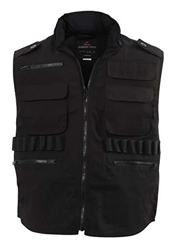 Rothco Ranger Vest, Black, Medium