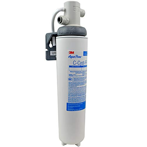 3M Aqua-Pure - 5609223 Under Sink Full Flow Water Filter System Cyst-FF White