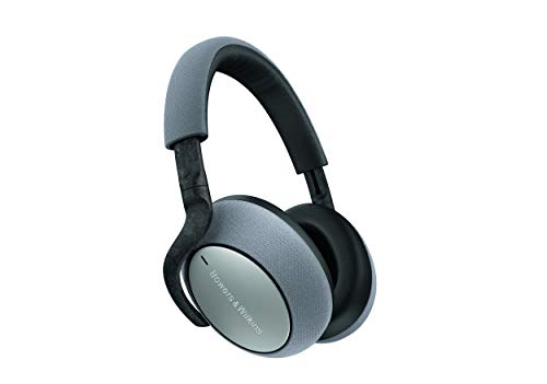 Bowers & Wilkins PX7 kabellose Bluetooth Over-Ear Kopfhörer mit adaptiven Noise Cancelling - Silver