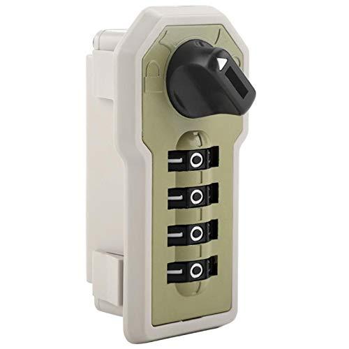 DEFTSHEEP 4 DIAL DIGIT Combinación Bloqueo codificado ABS Seguridad Cámara Cámara Caja de bloqueo Caja de herramientas Caja de cajón Escuela de gimnasio Casillo de contraseña Cerradura de código de co