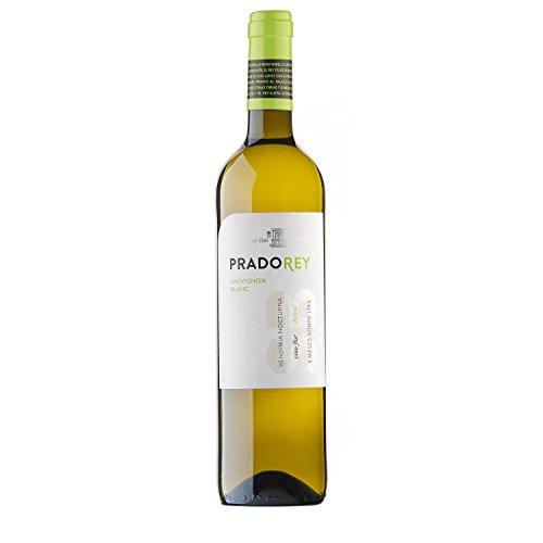 PRADOREY Sauvignong Blanc - Weißwein - Spanischer Wein - Rueda - 3 Monate Ausbau auf der Feinhefe - 1 Flasche - 0,75 L