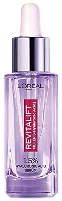L'Oreal Paris Hyaluronic Acid Serum Revitalift Filler [+Hyaluronic Acid], 1.5% Pure Concentrated Hyaluronic Acid Dropper Serum