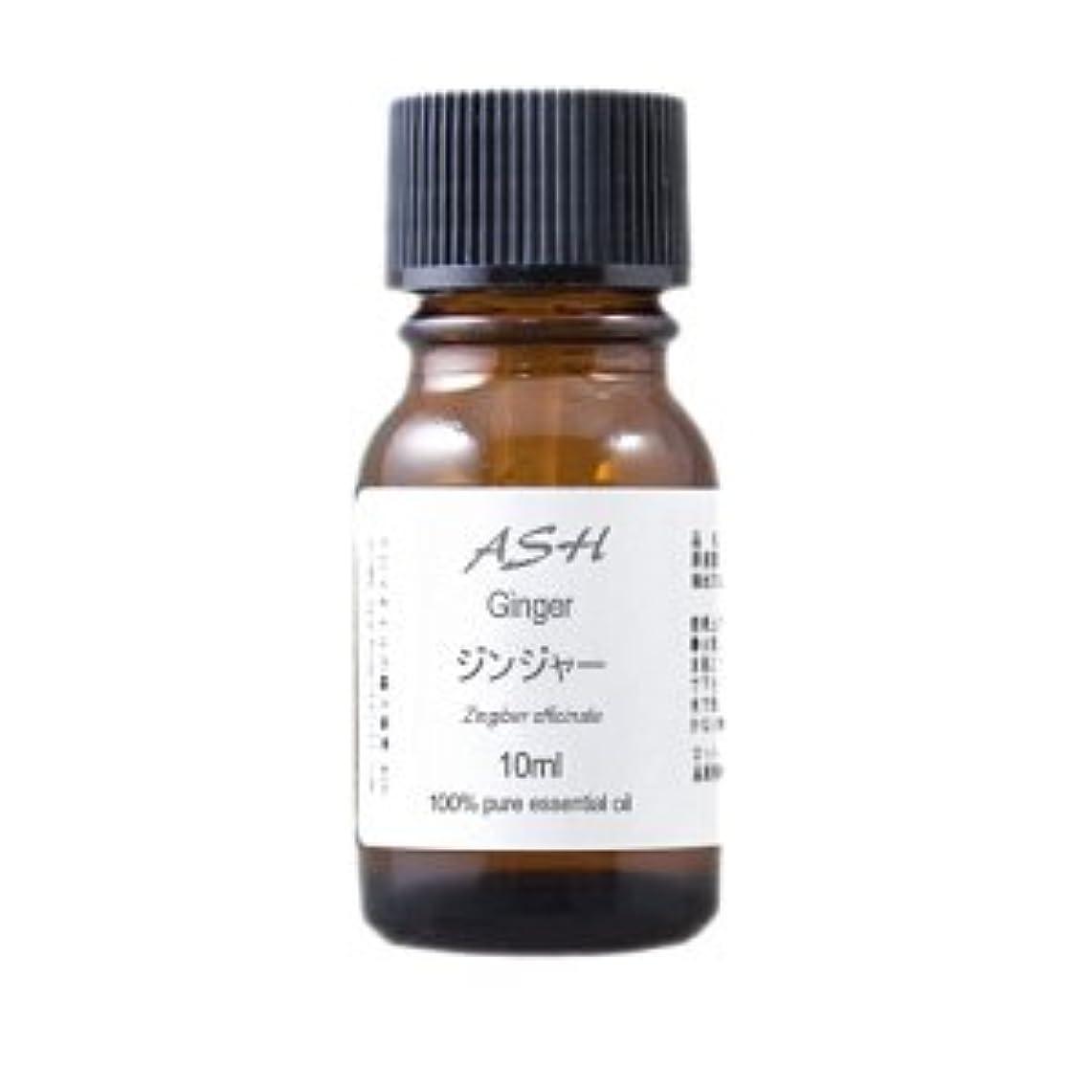 ラグ二年生机ASH ジンジャー エッセンシャルオイル 10ml AEAJ表示基準適合認定精油