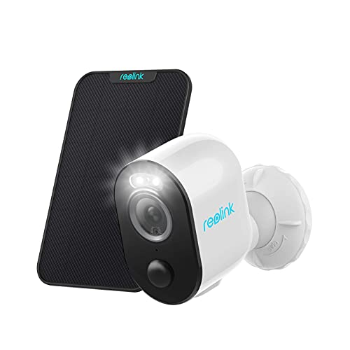 4MP 2.4/5GHz Reolink Argus 3 Pro WiFi Outdoor Security Camera Bundle with Solar Panel
