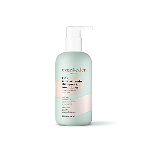 Evereden Kids Shampoo and Conditioner: Melon Juice, 10.1 fl oz. | Plant Based and Natural Kids Skin Care | Clean and Non-toxic | Multi-Vitamin Skin Care for Kids