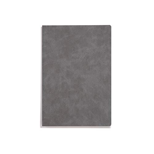 WOWOWO Cuaderno de Estilo Retro Cuaderno de Cuero Suave Bloc de Notas A5 Engrosado Papelería Creativa