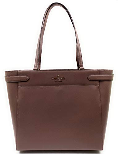 Kate Spade New York Staci Womens Saffiano Leather Laptop Tote Shoulder Bag (Duskcitysc)