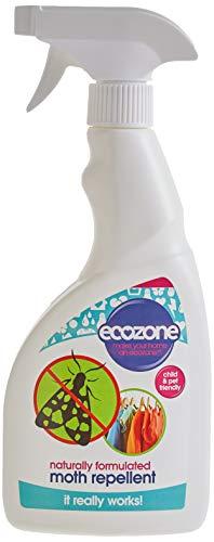 Ecozone - anti-mites - Formule Naturelle - Protection longue durée - Convient pour tous les tissus - 500 ml