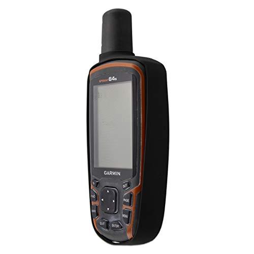 caseroxx Schutz Hülle für Garmin GPSMAP 62/64 / etc, GPS Navi Tasche (TPU-Hülle in schwarz)