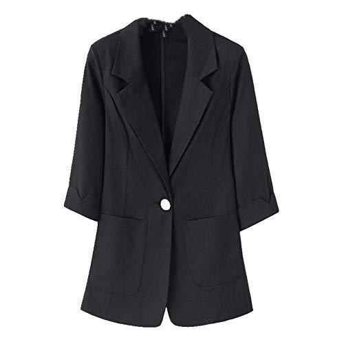 Chaqueta de punto casual para mujer, para verano, para mujer, chaqueta
