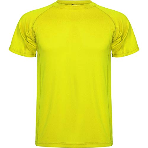 ROLY Camiseta Montecarlo 0425 Niño Amarillo FLÚOR 221 16