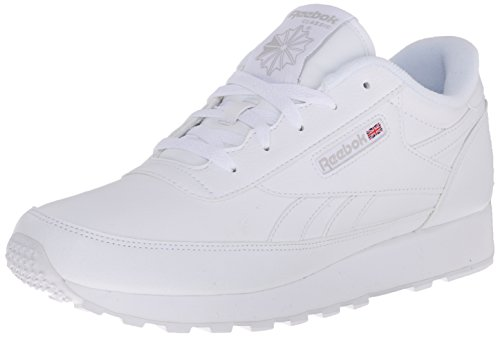 Reebok womens Classic Renaissance Shoes Casual Joggers, White/Steel, 7.5 Wide US