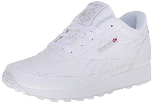 Reebok Women's Classic Renaissance Sneaker, White/Steel, 7 M US