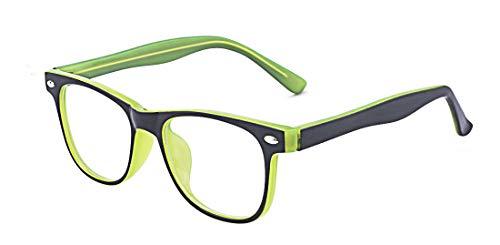 ALWAYSUV Occhiali per occhiali da sole Occhiali per occhiali da computer Occhiali con lenti trasparenti