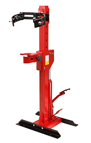 Notek Srl 1T Compressore estrattore Idraulico a Colonna per Molle ammortizzatori Dimensioni della Molla, 330 mm Corsa del Cilindro